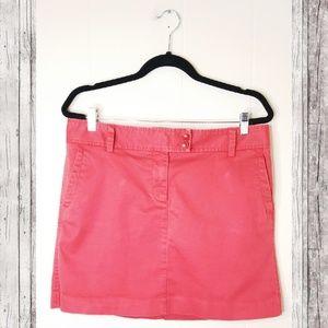 J. Crew Coral Skirt